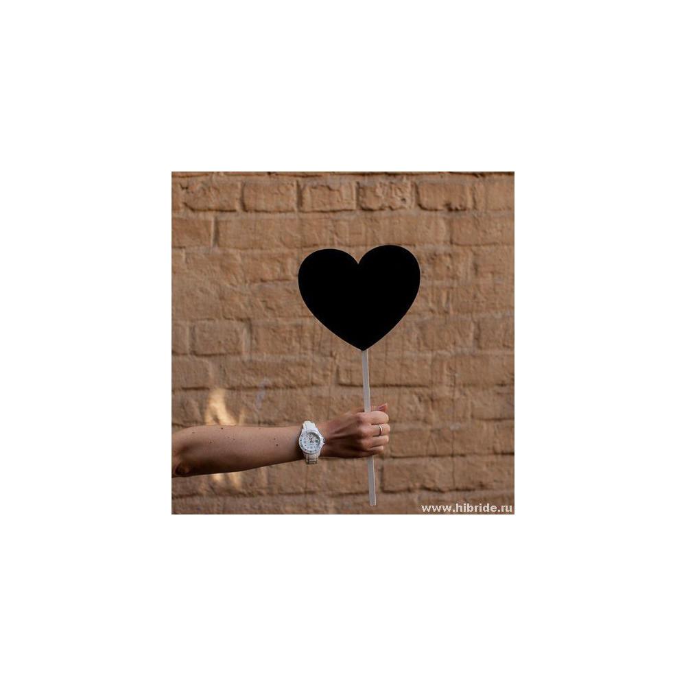 Меловая табличка для фотосессии - сердце