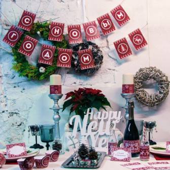 Новогодний набор для декора стола