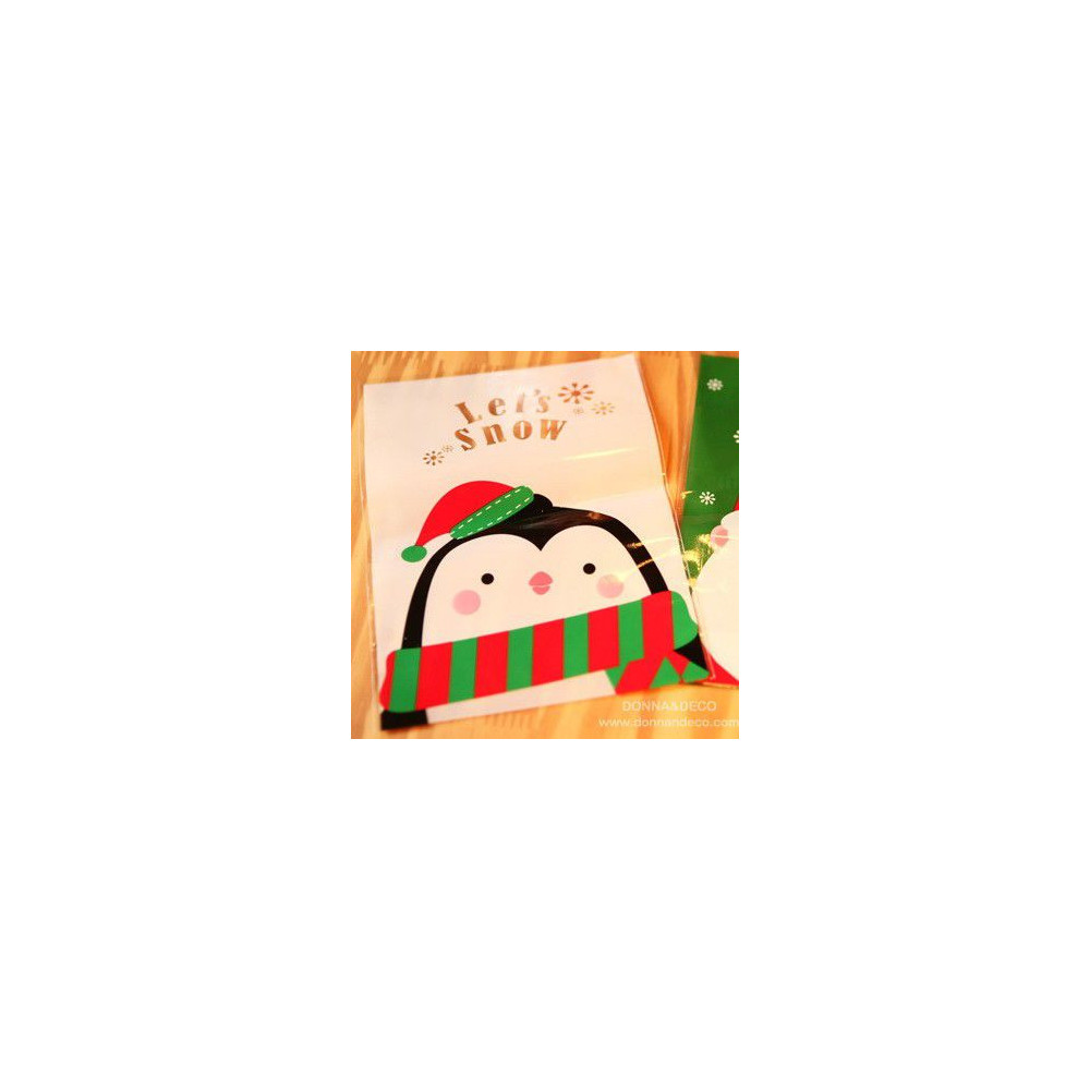 Пакетики для подарков (пингвин)