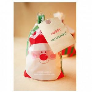 Пакетики для подарков (дед мороз)