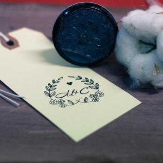 Печать на свадьбу для декора