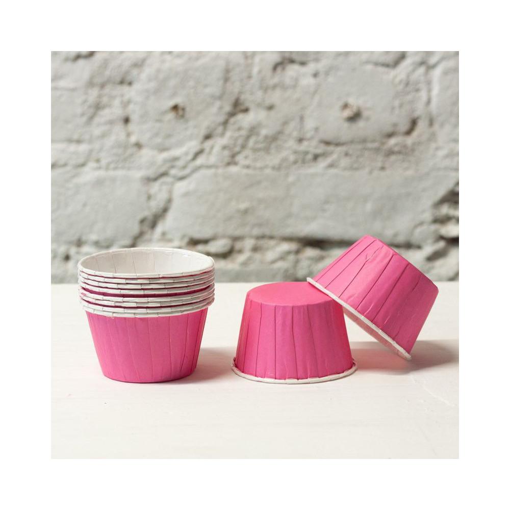Формочки для капкейков (розовый)