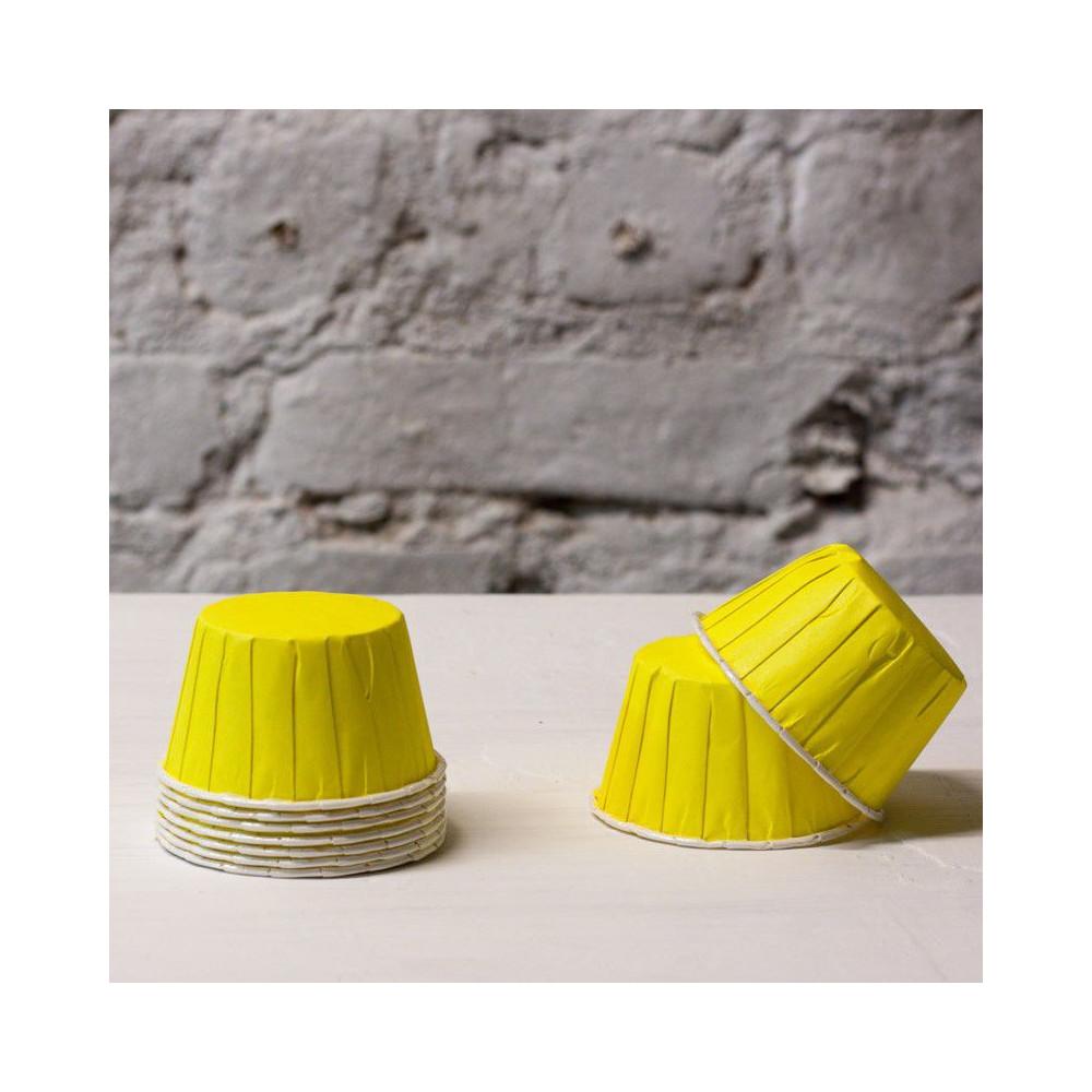Формочки для капкейков (желтый)
