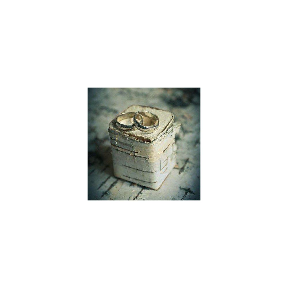 Квадратная коробочка для колец
