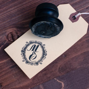 Печать с инициалами