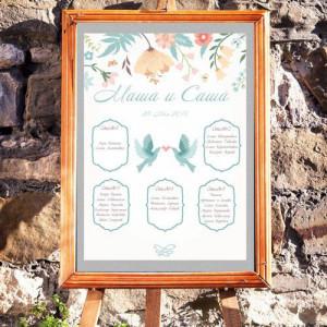 Птицы - План рассадки гостей