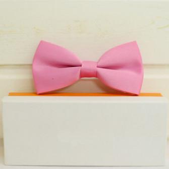 Розовая бабочка галстук