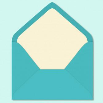 Таффани бирюзовый - конверт для приглашения