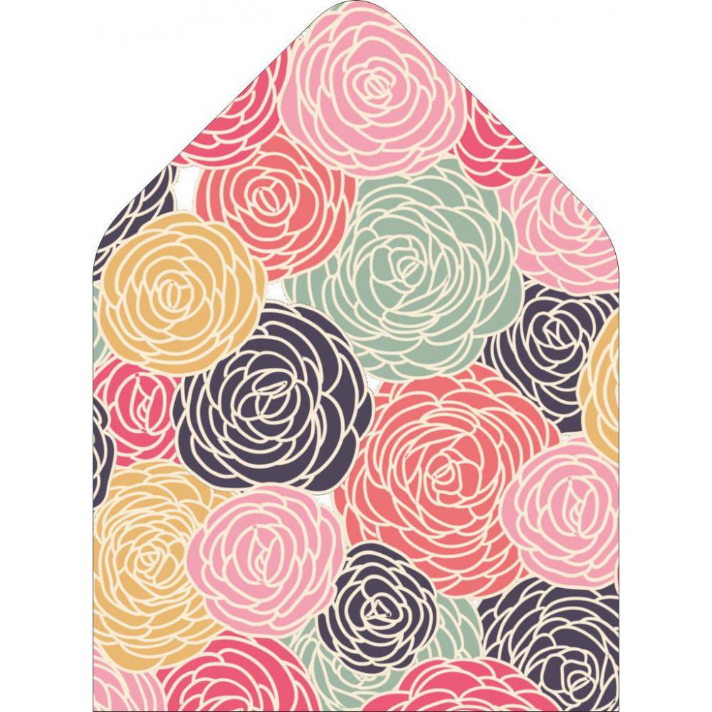 Розы 2 - вкладка в конверт