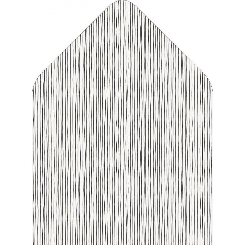Вертикальные линии - вкладка в конверт