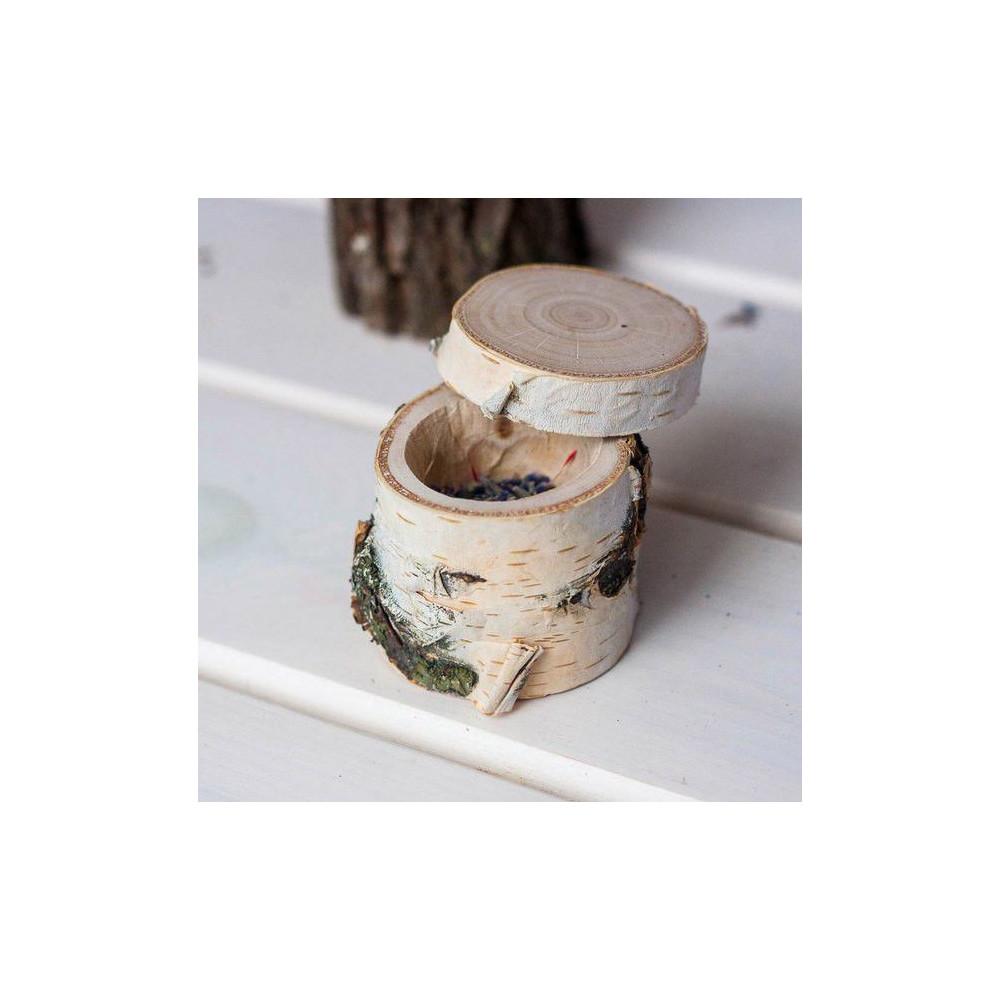 Коробочка для свадебных колец (Березовая)