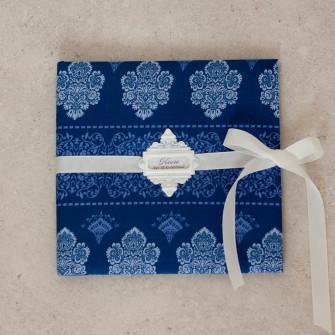 Книга пожеланий - Синие узоры