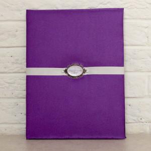 Папка для свидетельства - Фиолетовая