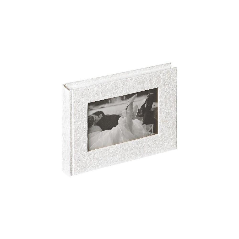 Альбом 22х16см свадебный (кружево)