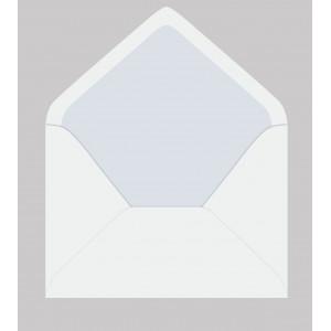 Белый — конверт для визитки 10х7.5 см