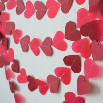 "Гирлянда из сердечек ""LOVE""(5 метров)"