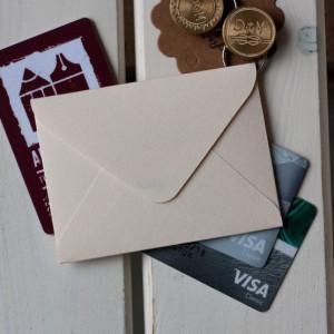 Абрикосовый — конверт 10х7.5 см
