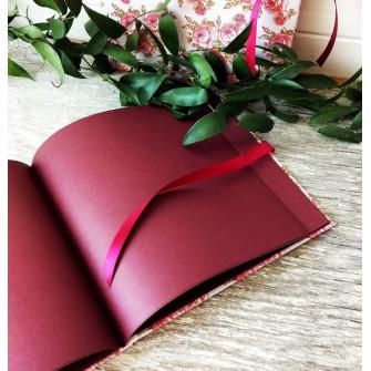 "Книга пожеланий ""Алые розы"""