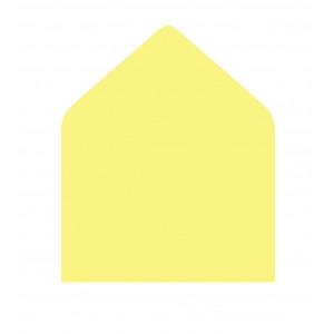 Вкладка для конверта, светло-жёлтая