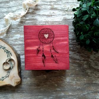 Love - Шкатулка для обручальных колец