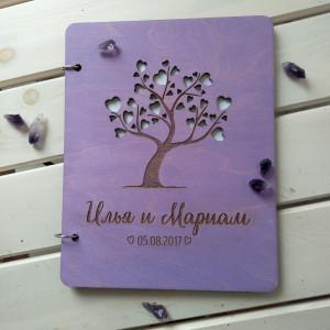 - Папка для свидетельства из дерева