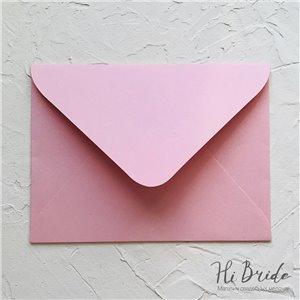 Конверт для приглашения, розовый