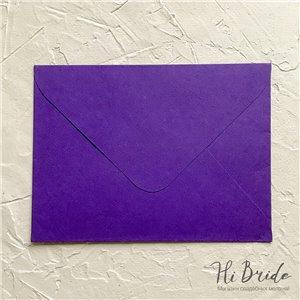Конверт для приглашения, фиолетовый
