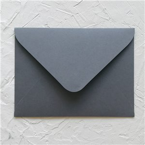 Конверт для приглашения, глубокий-серый