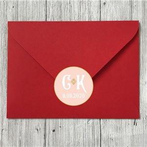 Наклейка на конверт