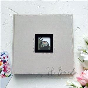 Альбом для фото тканевый 26х25 см