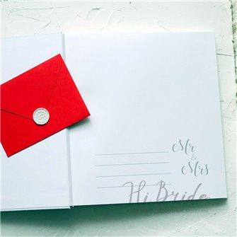 Альбом для фото белый (белые страницы)