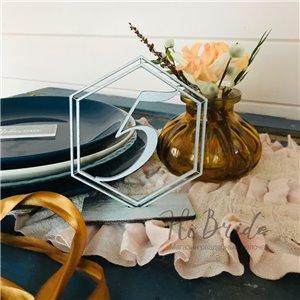 Геометрический номерок на стол