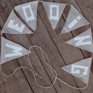 Гирлянды из ткани