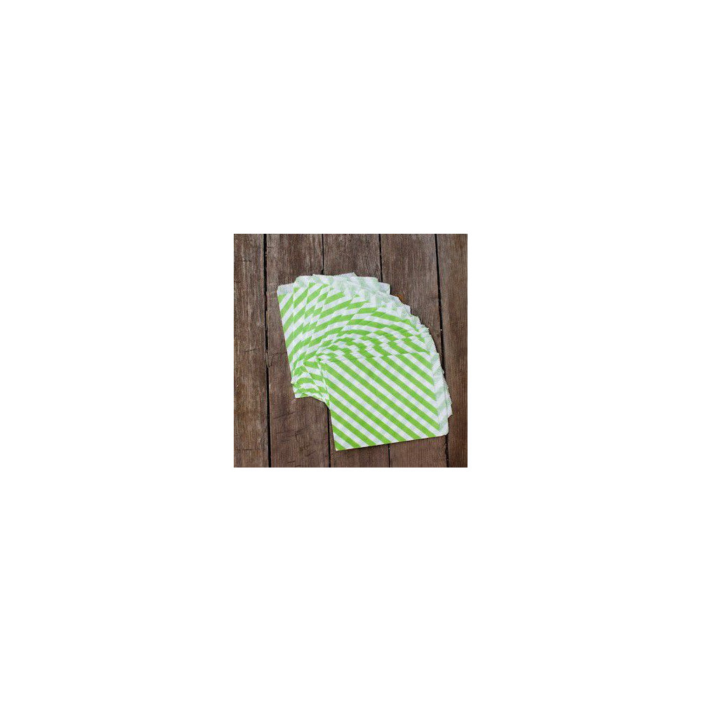 Большие бумажные пакетики (зеленые)