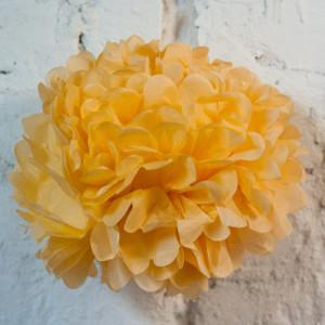 Помпон бумажный (персиковый)