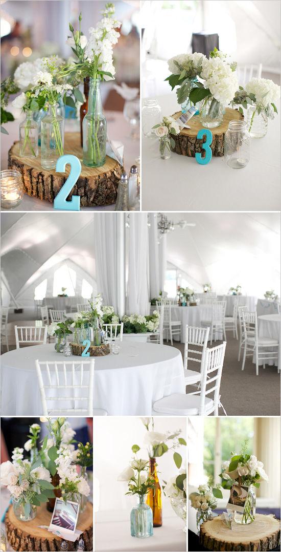свадебные украшения столов