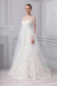 свадебное платье с фатином