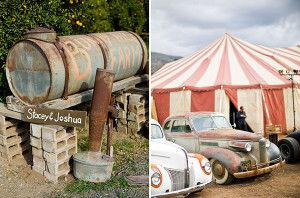 свадьба в цирке