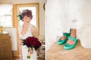 свадебные туфли хендмейд
