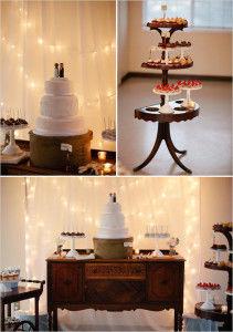 свадебный торт классический
