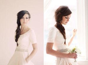 заплести косы на свадьбу