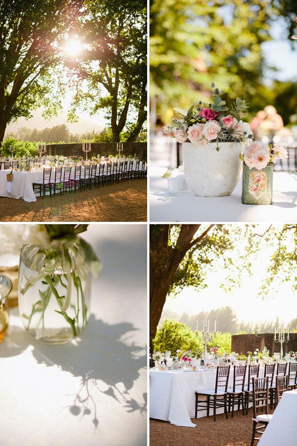 свадебный декор стола