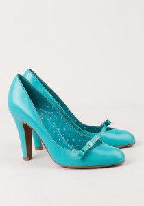 бирюзовые туфли moschino