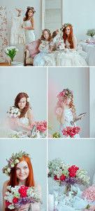 образ невесты нежный