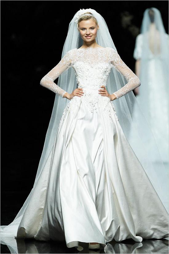свадебные платья pronovias 2013