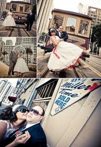 ретро свадьба в Нью-Йорке