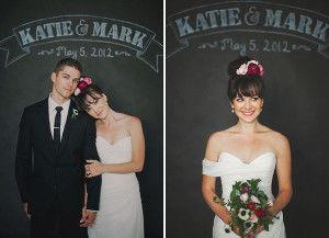 оригинальная свадебная фотосессия