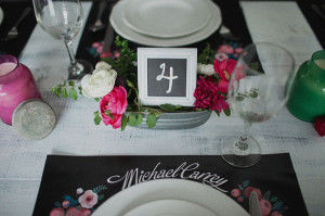 номер свадебного стола