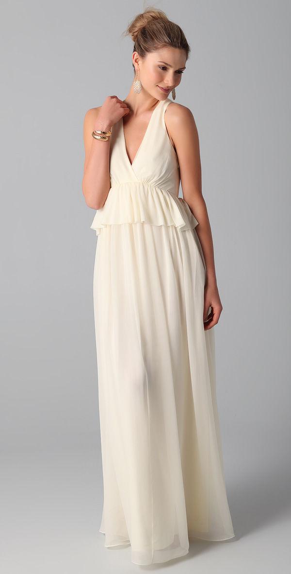 белое платье на свадьбу