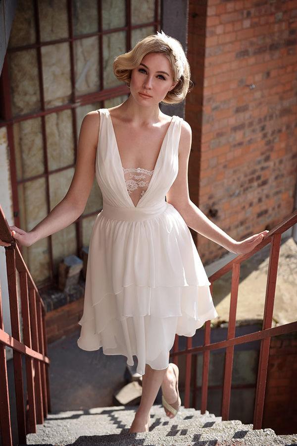 tea-length платья